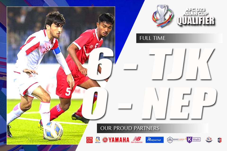 Nepal Are Out From AFC U23 Asian Cup