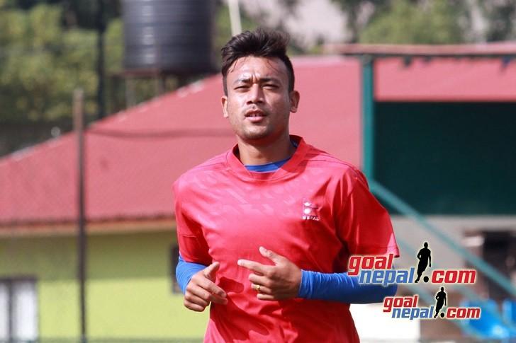 Nepal National Team Preparation For Tajikistan Match