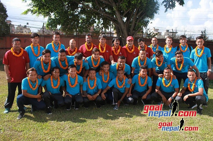 ANFA Bids National Team Farewell To Dushanbe, Tajikistan