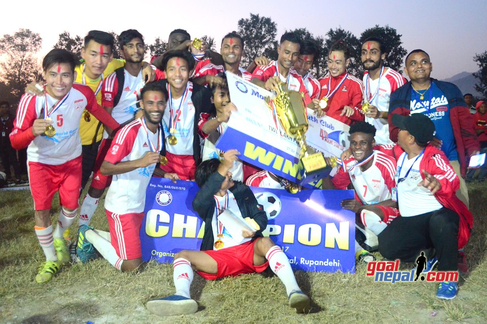 Rupandehi: Church Boys Wins Title Of 4th Mount Star Cup