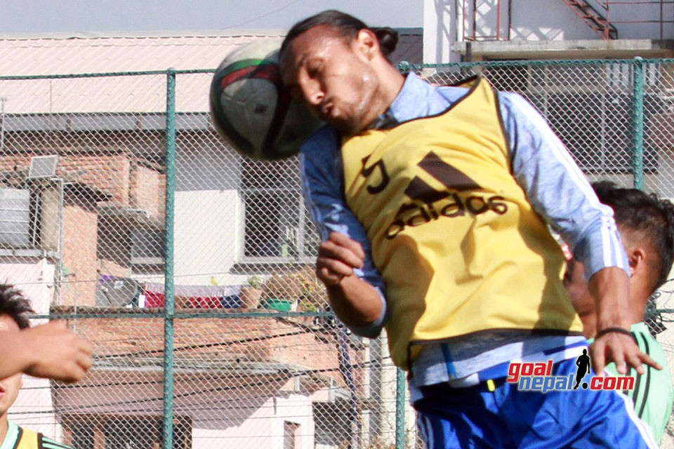 Rohit Chand Joins Training Session