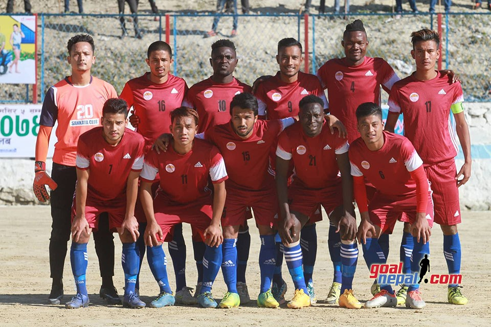 Chandragiri Gold Cup: Sankata Club vs Friends Club