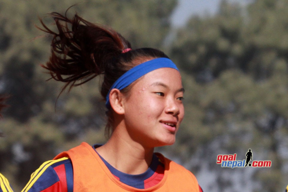 Nepal U15 Girls Team Speeds Up Prep For SAFF U15 Championship