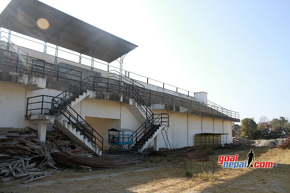 Chyasal Stadium Under Construction - GN Follow Up