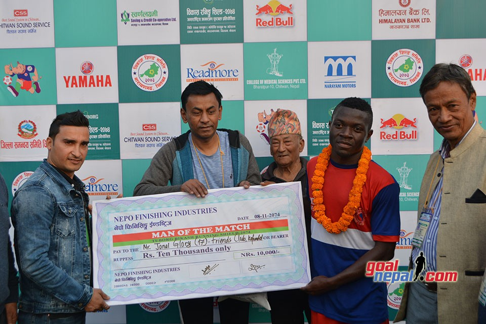 13th Bikash Running Shield: Friends Club Enters QFs