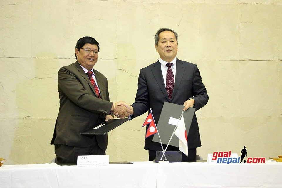 Government Of Japan Provides A Grant Of USD 71,581 To ANFA