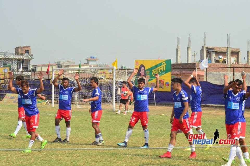 20th Tilottama Gold Cup: Rupandehi XI Vs Nepal Police Club