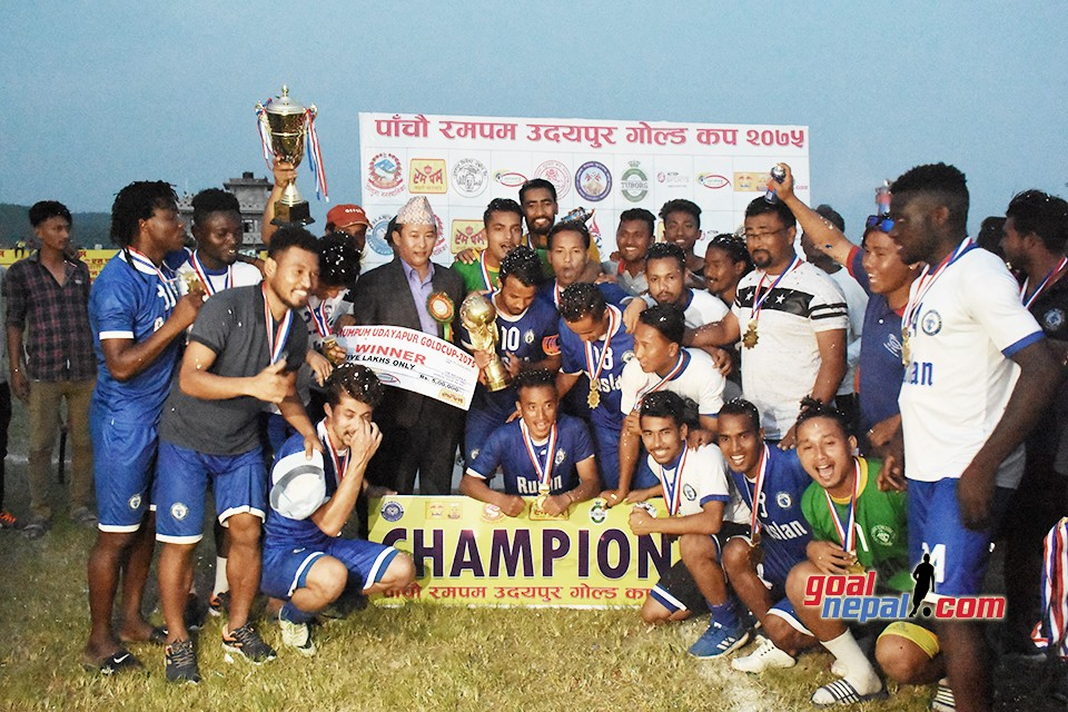 Rumpum 5th Udayapur Gold Cup: Ruslan TSC Vs MMC - FINAL