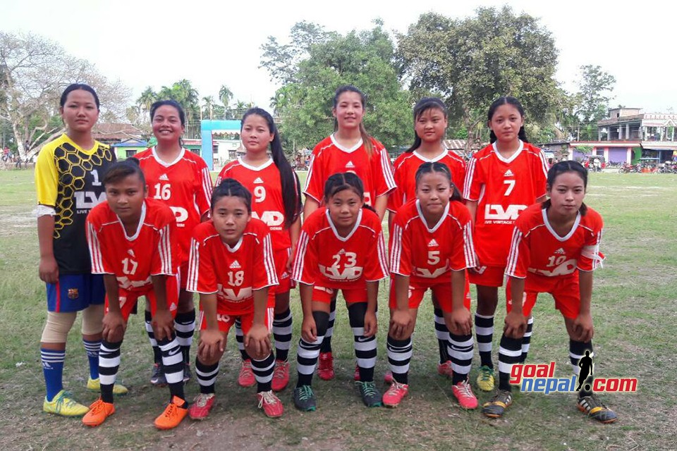 Jhapa: Juntara Women's Team Enters SFs Of 1st Sunshine Women's Football Championship