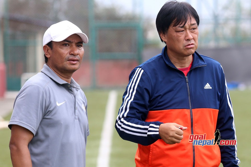 Nepal National Team Starts Prep For Asian Games & SAFF Championship 2018