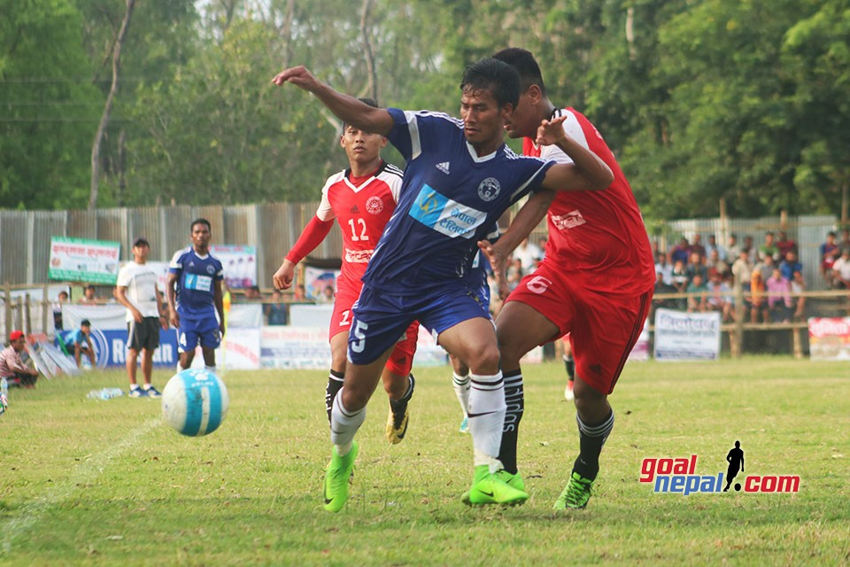 1st Lalbandi Gold Cup: Nepal Police Club Enter In SFs