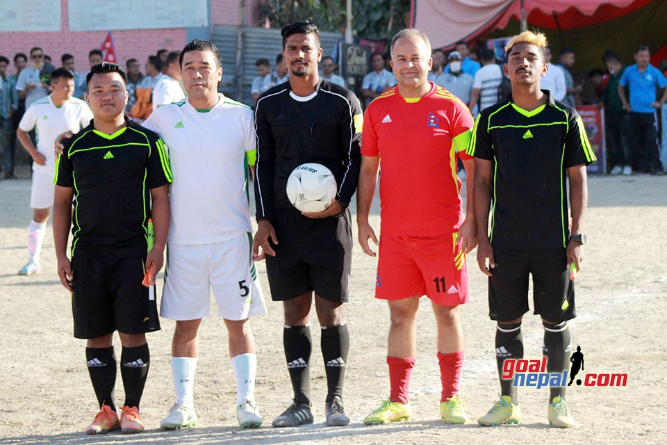 Kings Come Sports Club Veteran Championship : Final Jorpati Fc Vs Nepal Himal Seema Paar Banijya Sangh