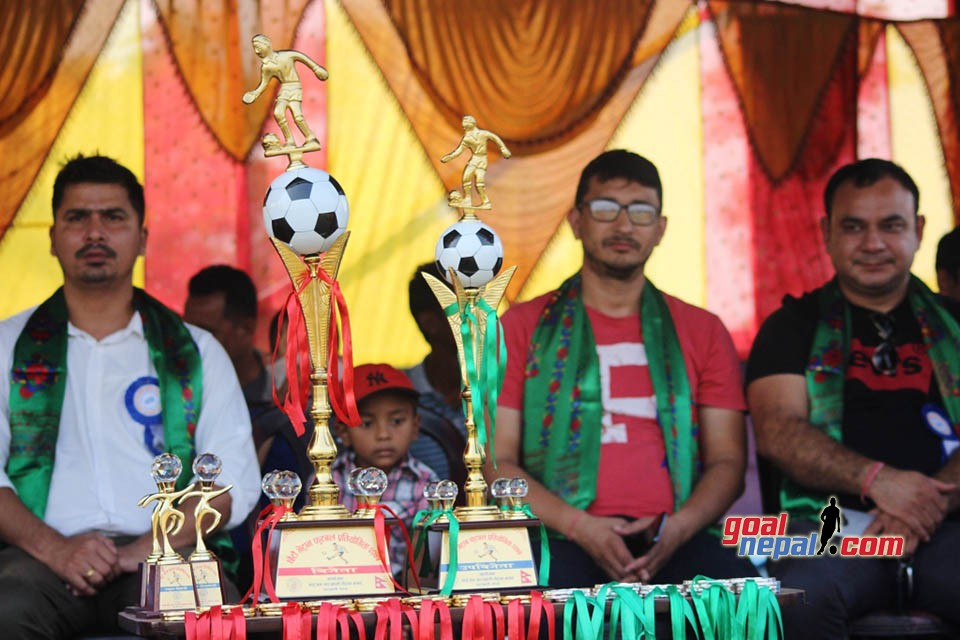 Jhapa: Hosts Dhaijan-Charaali Veterans Wins Title Of 6th Veterans Cup