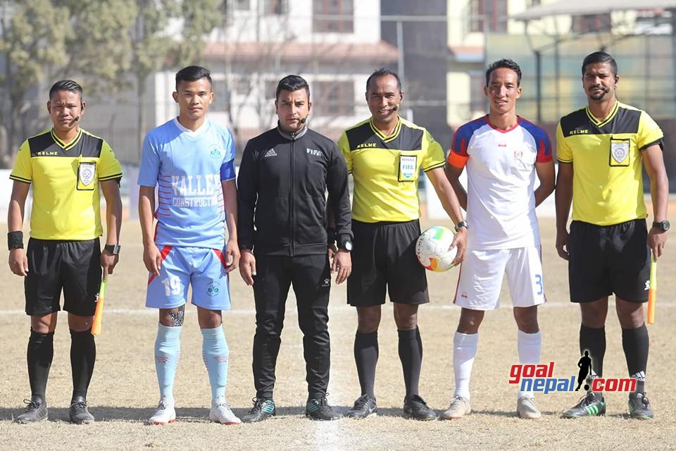 Pulsar Martyr's Memorial A Division League: Brigade Boys Vs Chyasal Youth Club