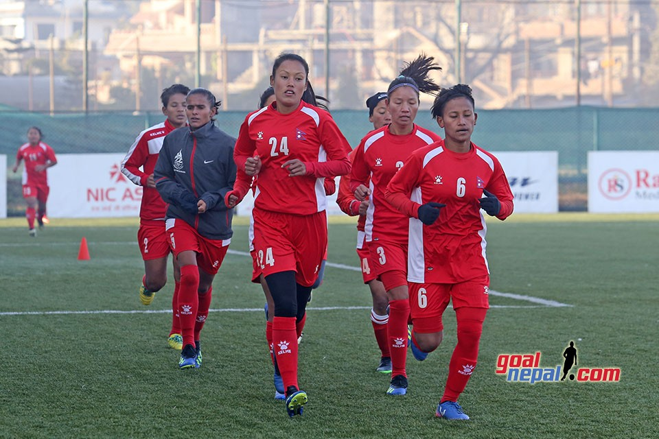 Women's  preparing  for SAFF