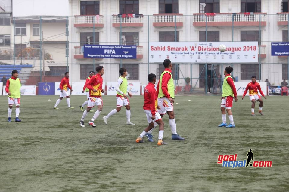 Pulsar Martyr's Memorial A Division League: APF Vs Machhindra FC