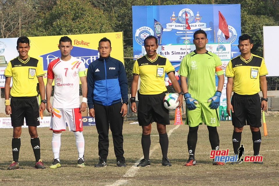Ruslan 10th Simara Gold Cup: Nepal APF Vs Bishal Memorial Foundation, Birgunj