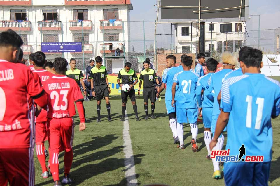 Martyr's Memorial B Division League: Tushal Youth Club Vs Pulchowk Sports Club