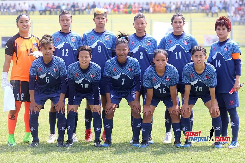 SAFF Women's Championship: Nepal Vs Sri Lanka