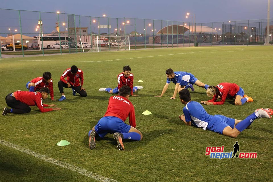 Nepal U23 Completes Prep For Qatar U23 Clash