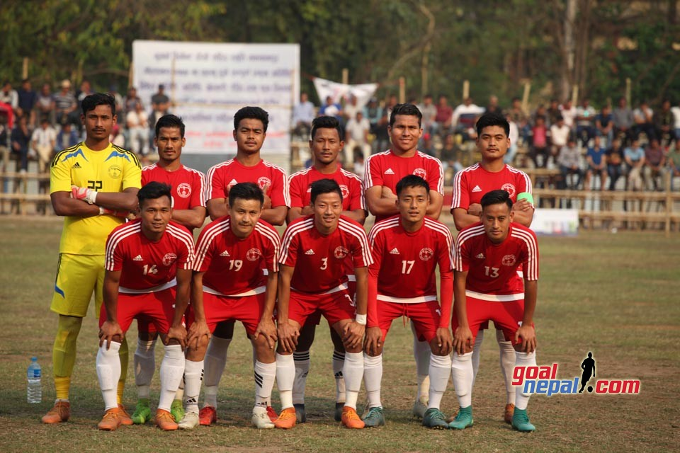 Bhugarva Cement Martyr's Memorial Makwanpur Gold Cup: Nepal Police Club Enters SFs