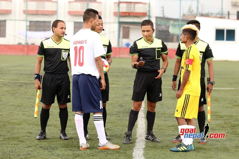 C Division League Qualifiers:  West Kathmandu FC Vs Bhairav Sports Club