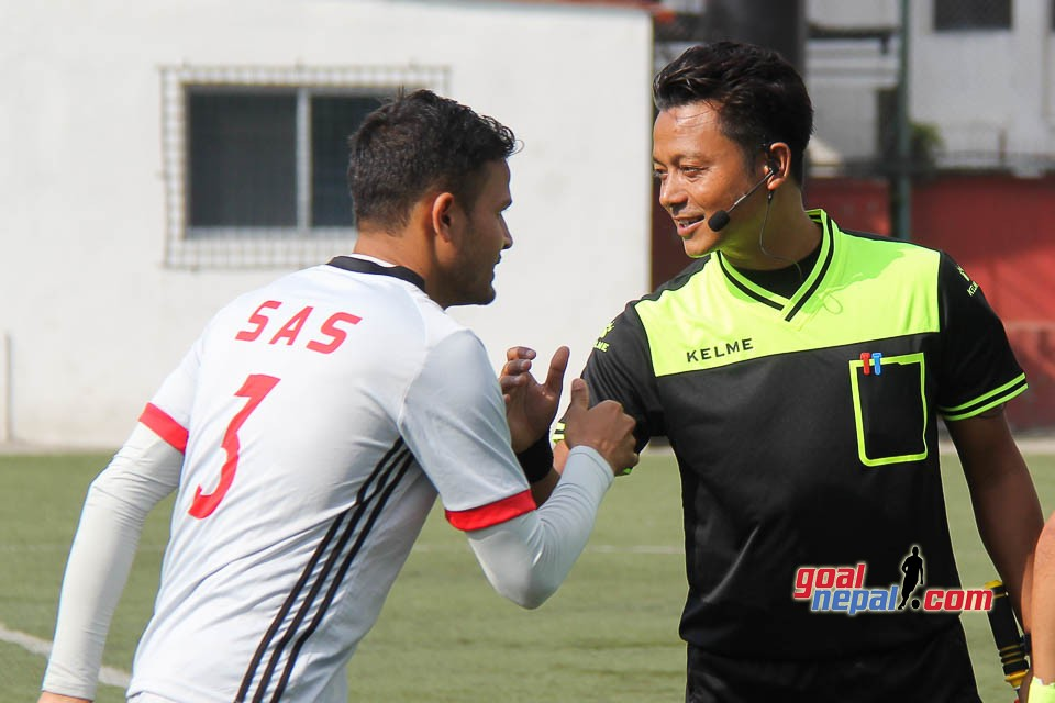 C Division League QFs 2019: SAS Vs Bhairav Sports Club