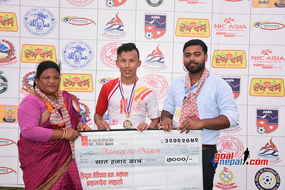 6th Rumpum Udayapur Gold Cup: Nepal APF Enters SFs