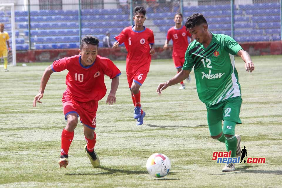 Lalit Memorial U18 Championship: Nepal Army Vs Friends Club
