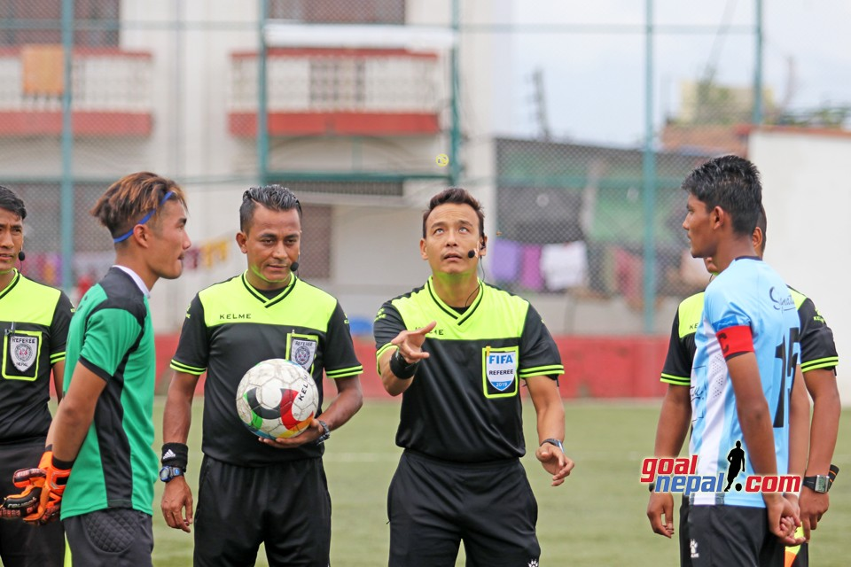 Lalit Memorial U18 Football Tournament: Manang Marshyangdi Club Vs Himalayan Sherpa Club