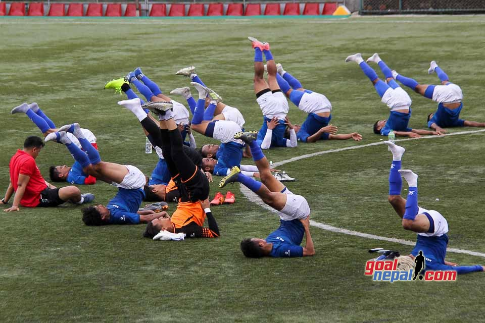 Nepal National Team Training