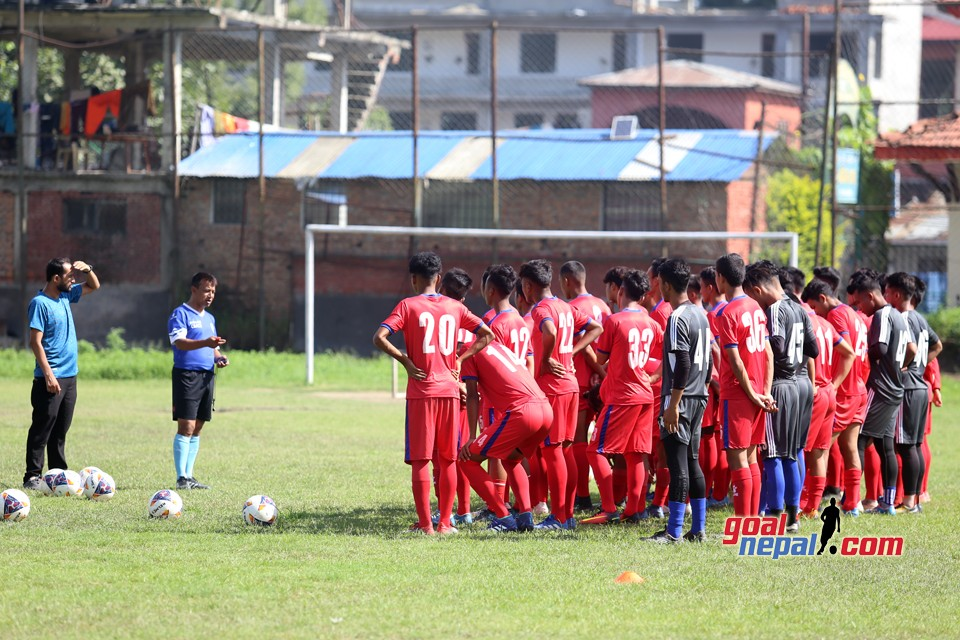 Nepal U18 Preparing For SAFF U18 Championship