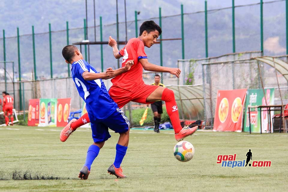 Nepal U-18 vs Nepal U-15 Friendly Match