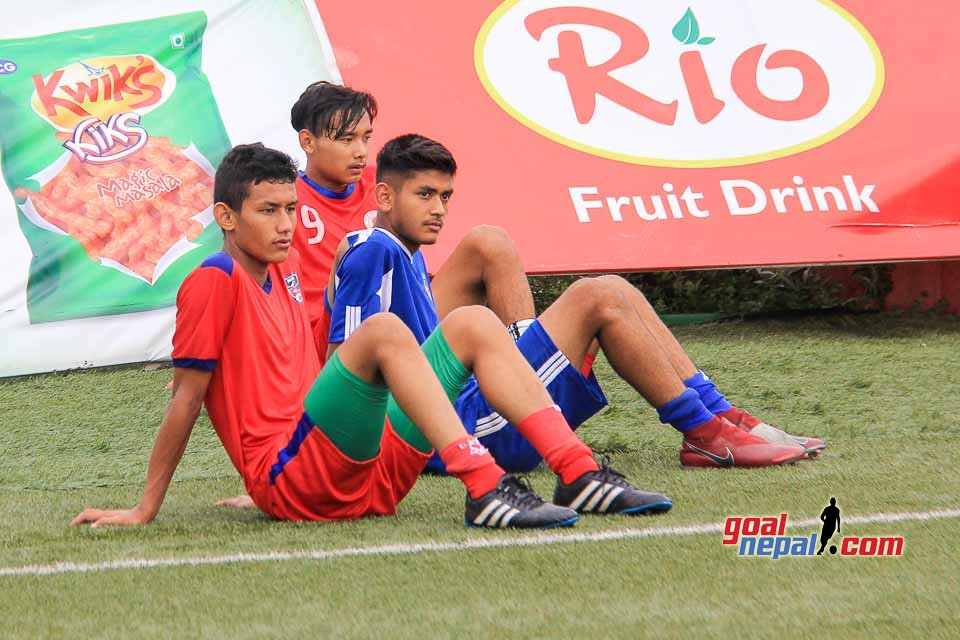 Nepal National U18 Football Team Training pics