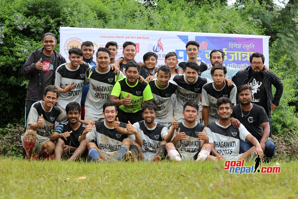 Lakur Futsal Win The Title Of 16th Dinesh Memorial Gaijattra Cup