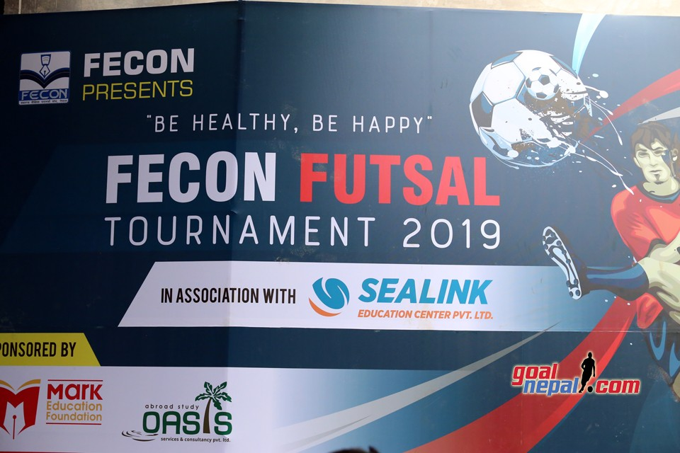 FECON Futsal Tournament 2019 Kicked OFF