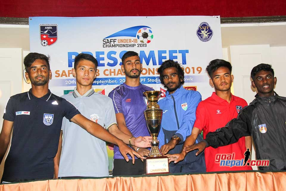 Pre-Match Press Conference of SAFF U18 Championship 2019