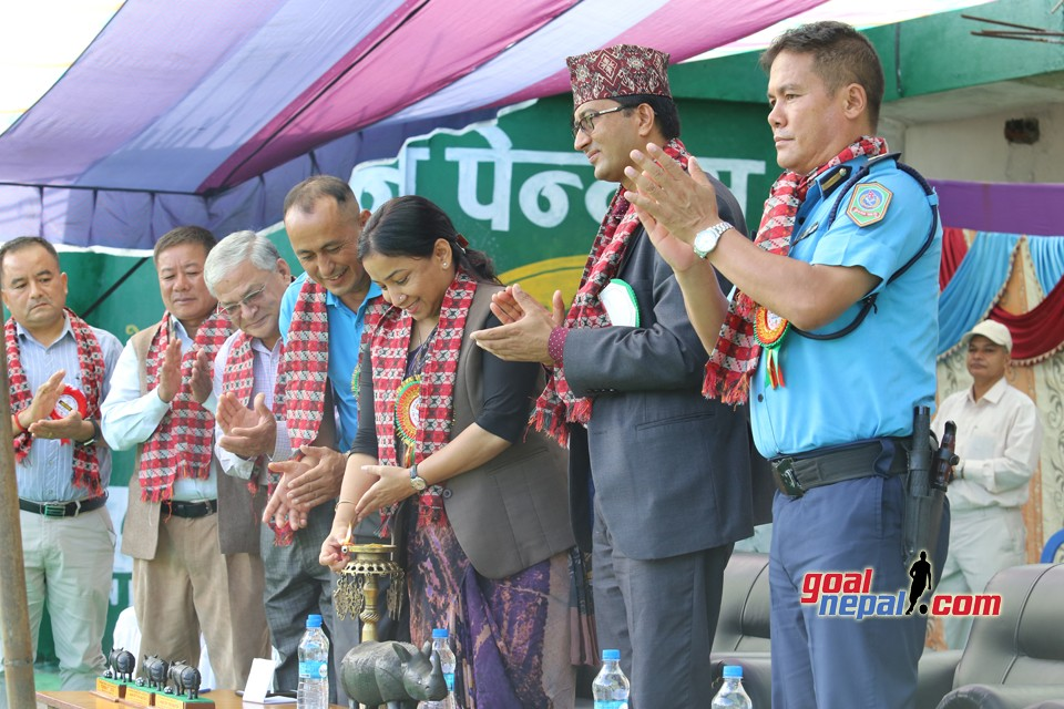 1st Chitwan Veterans Cup  Kicks Off
