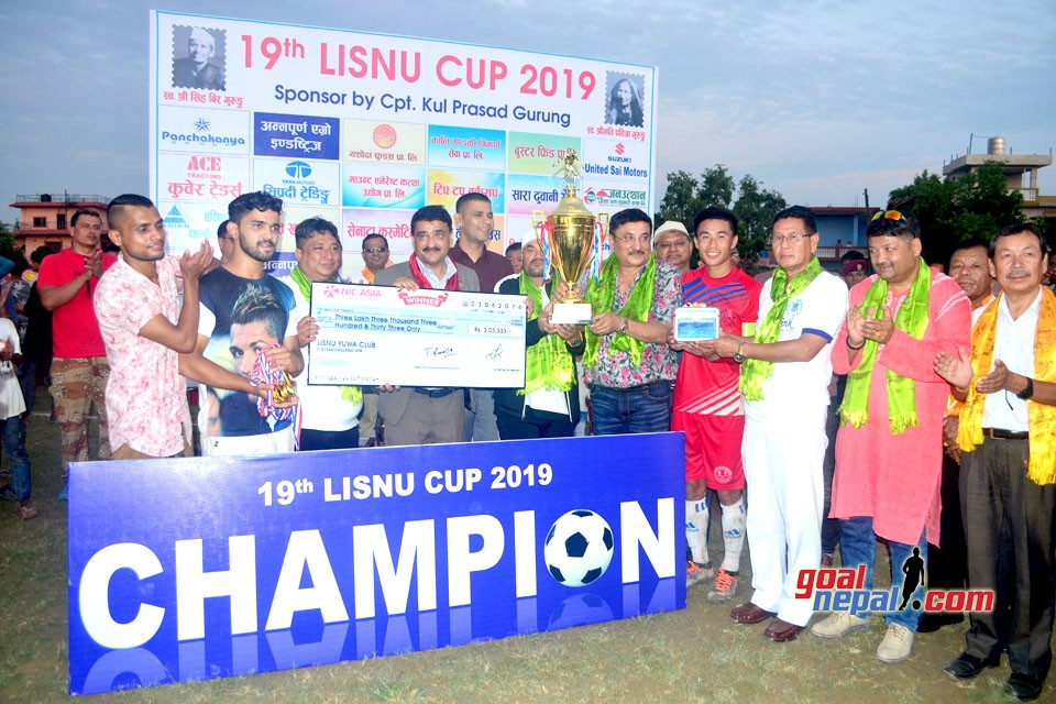 Pharsatikar Yuwa Club WIns Title Of 19th Lisnu Cup (Photos)