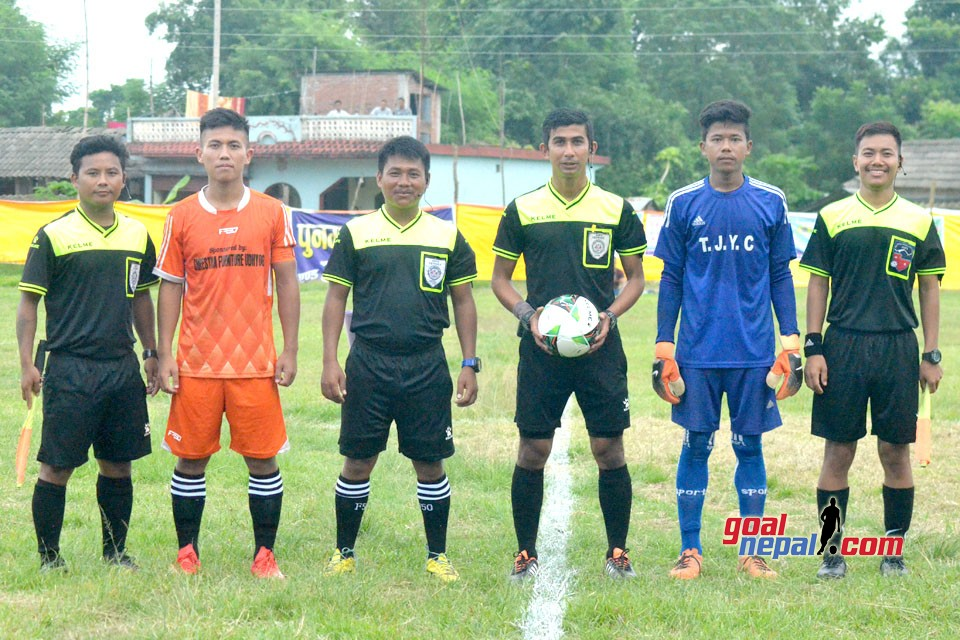 7th Chadani Cup Kicks Off, Bishwa Shanti Club Vs New Rising YC (Photos)