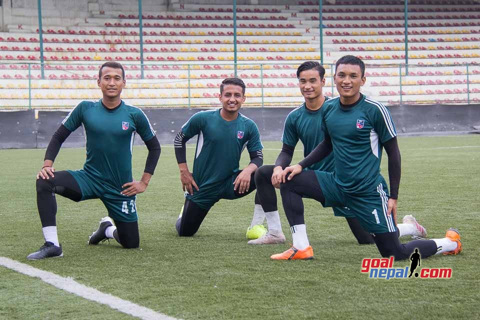 Nepal National U19 Football Team Training