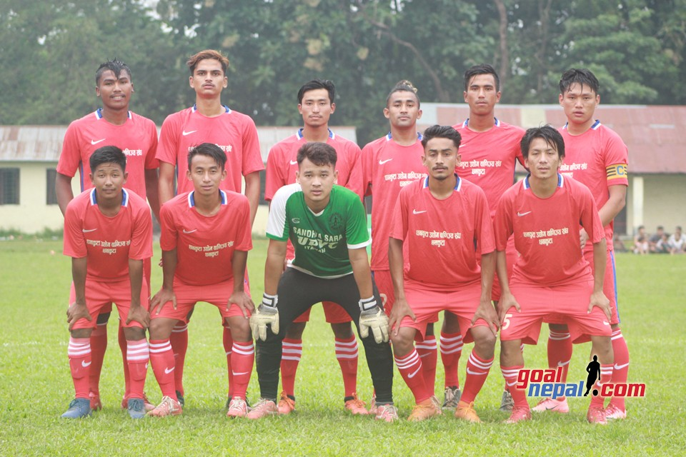 Dhankuta FC has entered semifinals of 4th Barah gold cup football tournament 2076