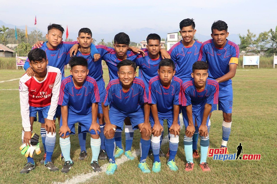 Sunsari: Sky English School enters QF of Inter School Football Tournament