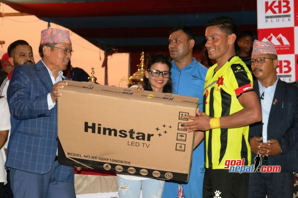 Hamro Purbanchal Goldcup FINAL : Tribhuwan Army Vs Church Boys (Photos)