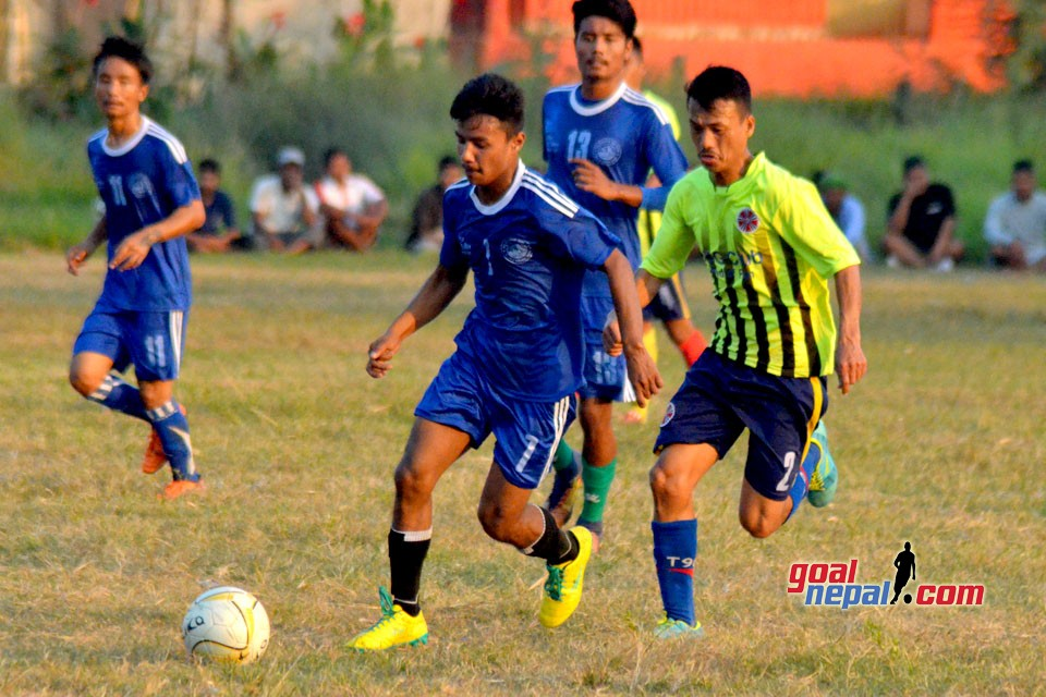 3rd NYC Cup : Province 5 PTC Vs New Himalayan YC (Photos)