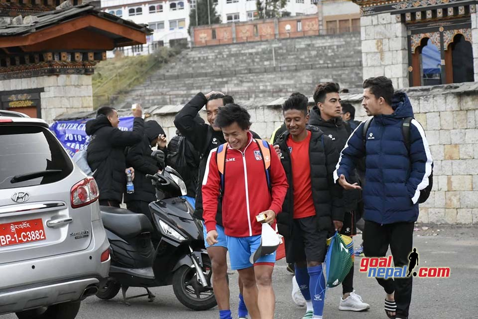 First Training Session In Thimpu, Bhutan