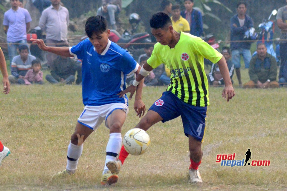 3rd NYC Cup : New Srijana Vs Province 5 Police TC (Photos)