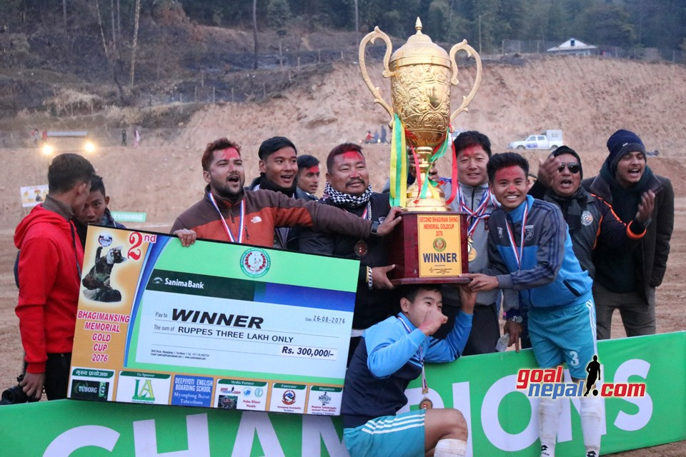 Terathum: Jalthal FC Jhapa Wins Title Of 2nd Bhagiman Singh Memorial Cup