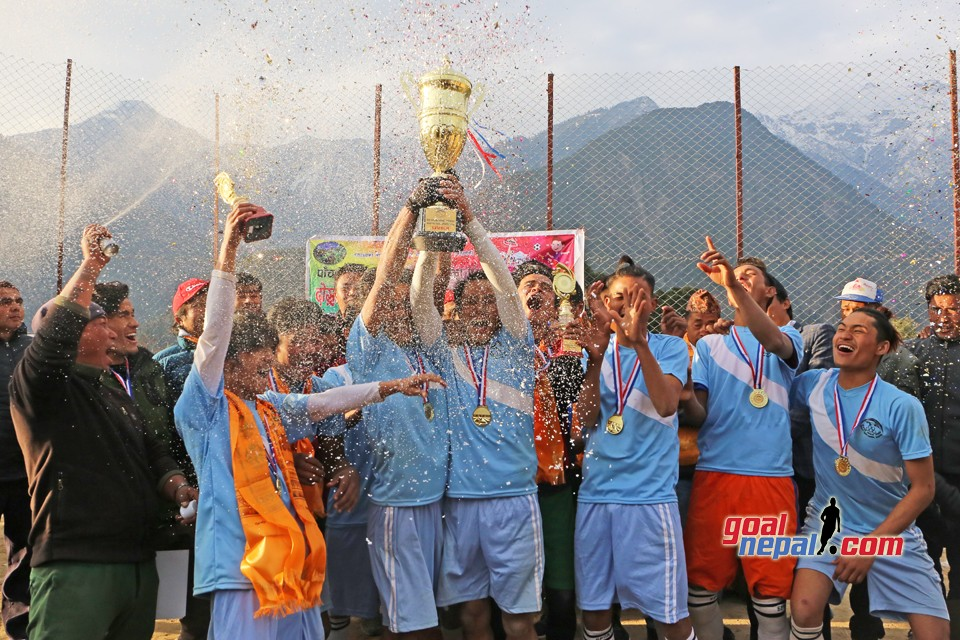 Ward no.3 Bhotang Win the title of  Pachpokhari Rural Munuciplity President Cup