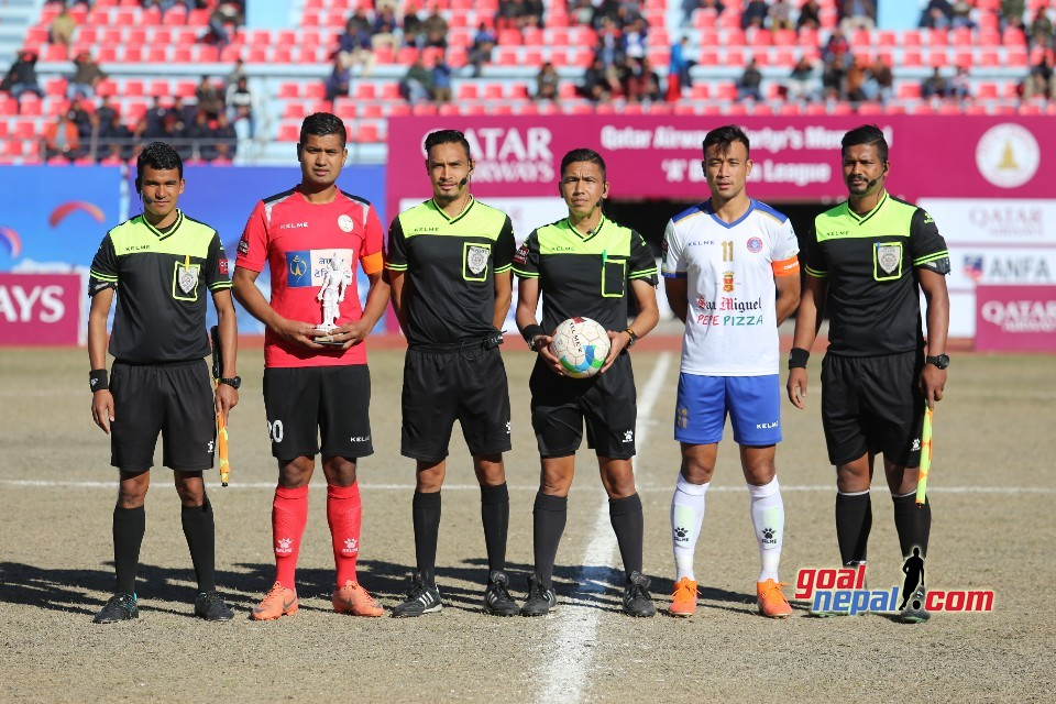 Qatar Airways Martyr's Memorial 'A' Division League: Nepal Police Club Vs  Machhindra Football Club